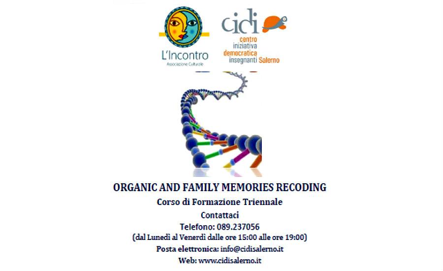 """Workshop  """"La famiglia come organismo vivente"""""""