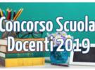 ISCRIZIONI  PER IL CORSO DI  PREPARAZIONE AL CONCORSO  DOCENTI 2019