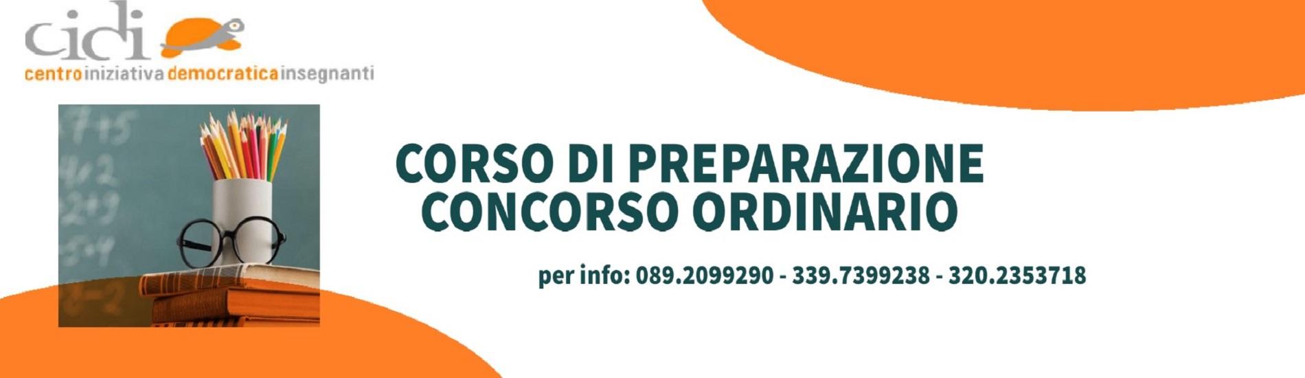 CONCORSO ORDINARIO